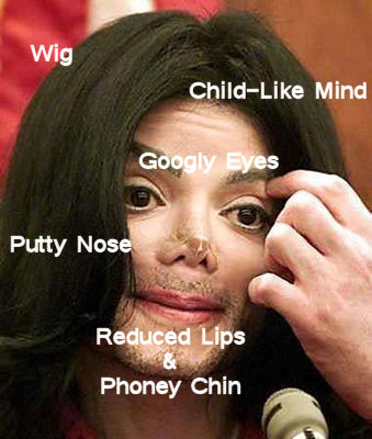 A few of the symptoms of being Michael Jackson - besides death, that is.