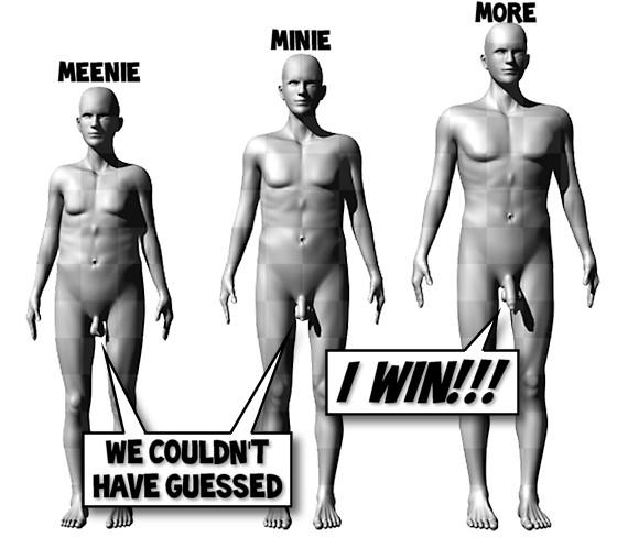 Women prefer big penises
